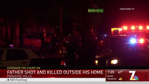 [DGO] Father Shot and Killed Outside Home in Paradise Hills