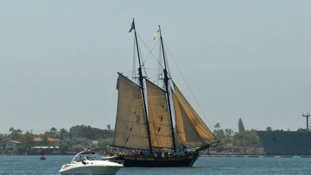 [G] Tall Ships Cruise in For Festival of Sail