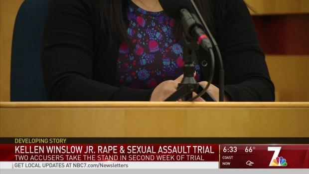 Final Two Accusers Testify in Winslow Rape Trial