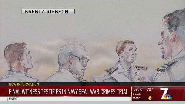 [DGO] Final Witness Testifies in Navy Seal War Crimes Trial