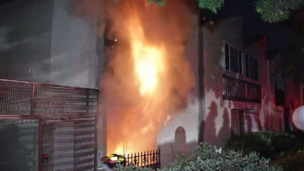 [DGO] Fire Damages National City Apartment