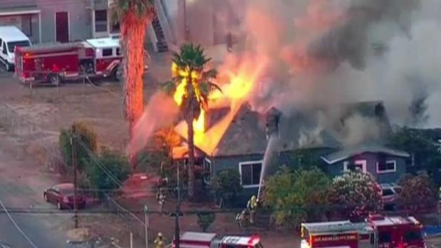 [DGO] Fire Damages Ramona Home