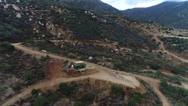 NBC 7 Drone Ranger Flies Over 22-Acre Gun Range