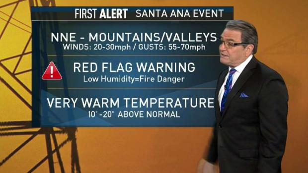 [DGO] First Alert Weather: Santa Anas in January
