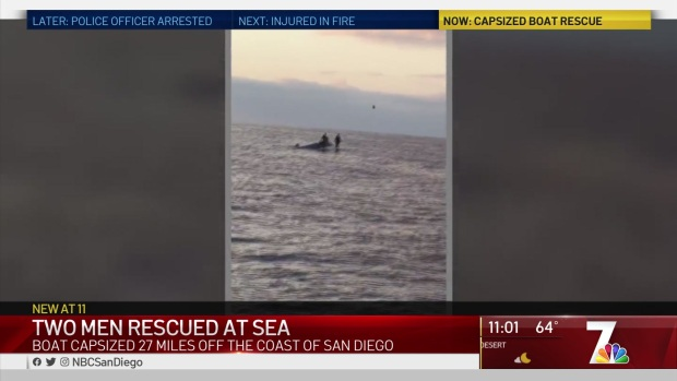 Fishing Charter Rescues Two SEALs From Capsized Boat