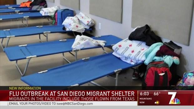Flu Cases at Migrant Shelter