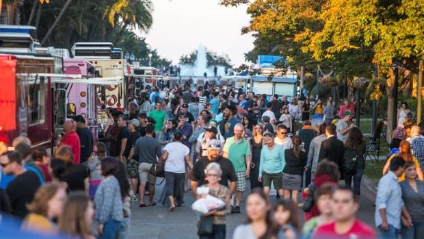 Food Truck Fridays at Balboa Park