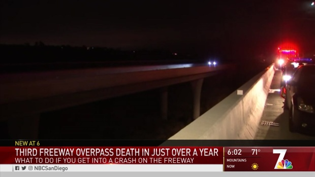 [DGO] Falling Deaths on SR-56 Highlight Dangers of Exiting Car on Highway at Night