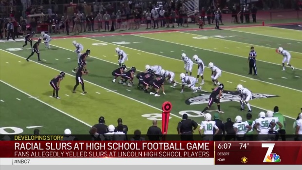 Racial Slurs Reported at High School Football Game
