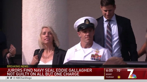 [DGO] Navy SEAL Eddie Gallagher Found Not Guilty on All Charges Except One