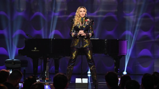 Madonna Honored by Billboard as 'Woman of the Year'