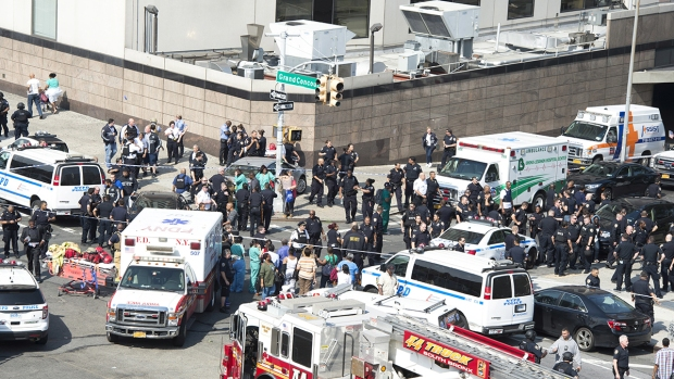 In Pictures: Seven Shot by Doctor, One Dead at New York City Hospital