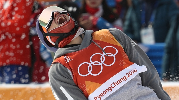 Feb. 18 Olympics Photos: Goepper Wins Silver for Slopestyle