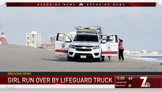[DGO] Girl Run Over by Lifeguard Truck in Coronado