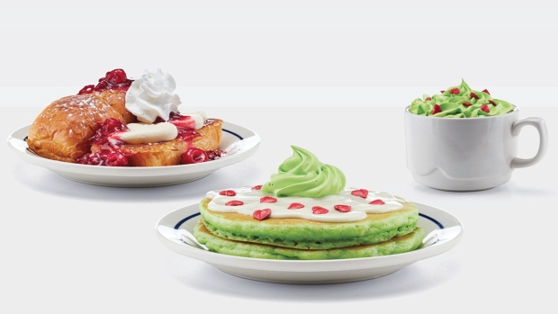 Wild Food Crazes: Grinch's Green Pancakes