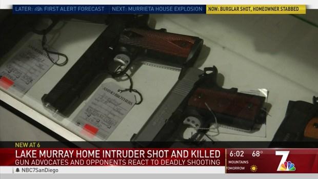 [DGO] Critics Question Gun Storage Ordinance After Shooting of Burglar in Lake Murray