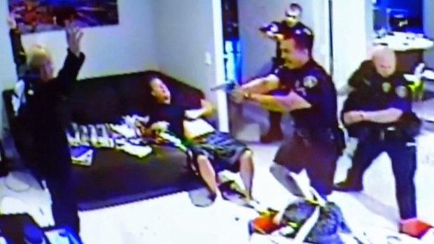 [DGO] Security Camera Captures Hans Petersen's Arrest