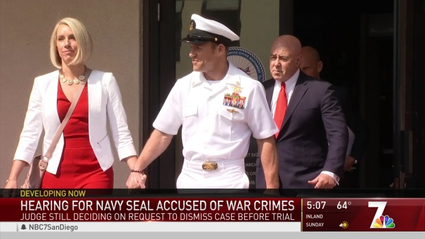 [DGO] Hearing for Navy Seal Accused of War Crimes