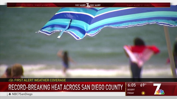 [DGO] Heat Blisters San Diego from Coast to County Line