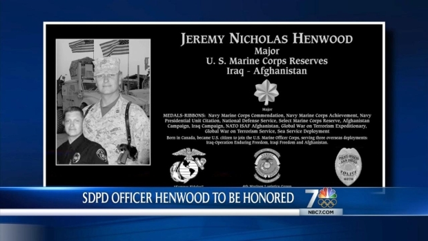 [DGO] Slain SDPD Officer Honored With Plaque