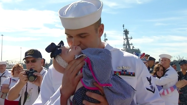 Welcome Home, USS Higgins