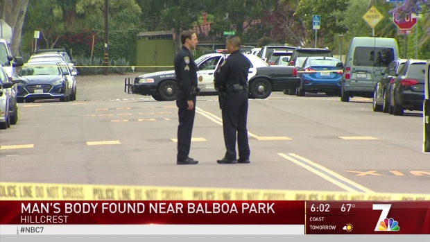 [DGO]Body Found Near Balboa Park