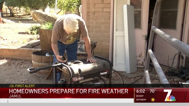 [DGO] Homeowners in High Fire Risk Areas Stay Prepared