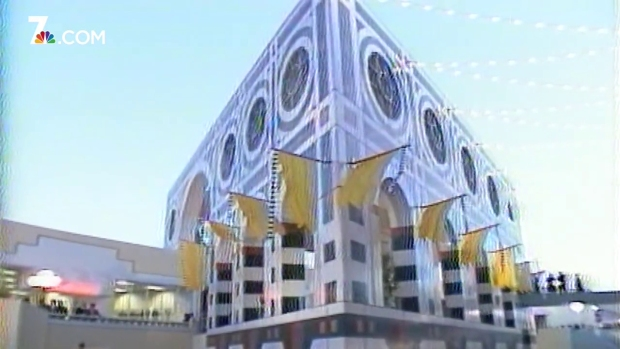 [DGO] From NBC 7 Archives: Horton Plaza Grand Opening (1985)