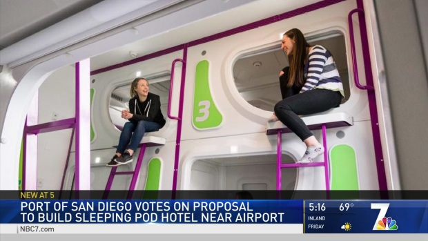 Hotel of Sleeping Pods Approved for Port