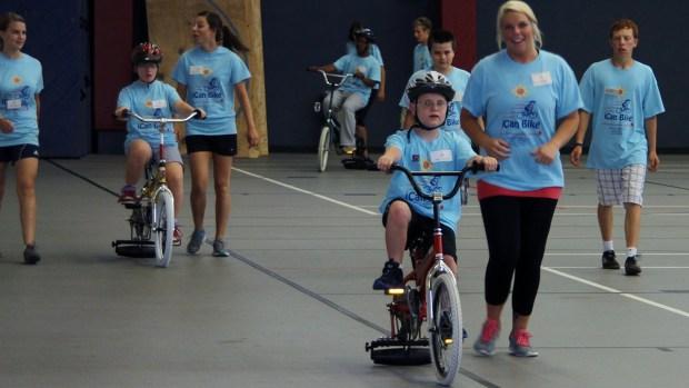 Special Needs Bike Camp Short on Volunteers