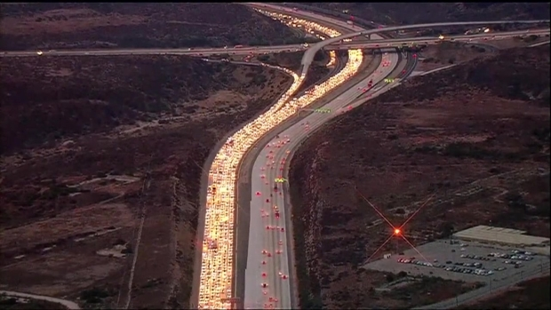 Deadly DUI Crash Stalls Traffic on I-15