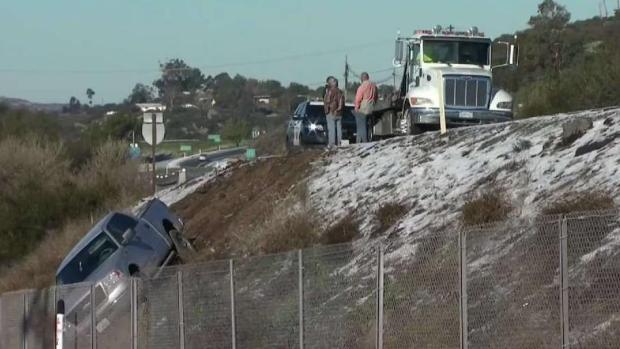 [DGO] Ice, Snow Prompts 12-Hour Closure on I-8