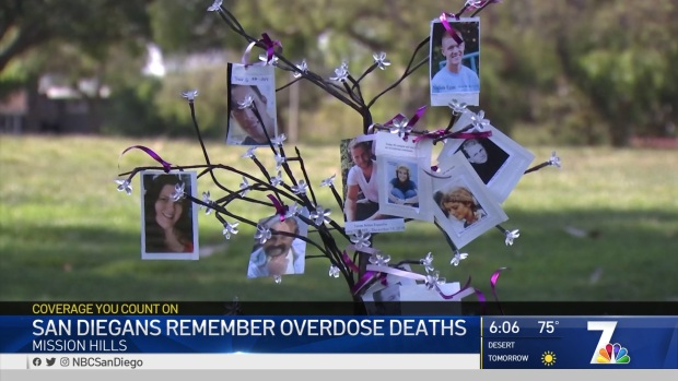 [DGO] San Diegans Remember Those Lost to Overdose