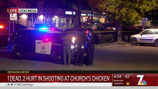 One Dead in Shooting at Church's Chicken in Otay Mesa