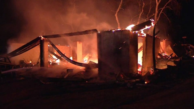 [DGO] Fire Destroys Home in Jamul