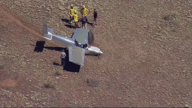 Small Plane Goes Down in Jamul