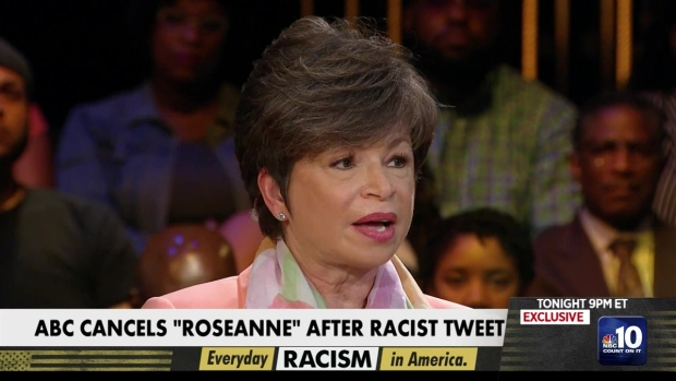 [NATL-PHI] Valerie Jarrett Comments on Roseanne Tweet During MSNBC Town Hall on Race