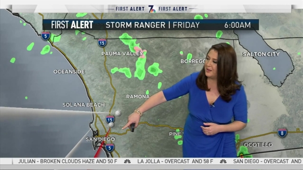 [DGO] NBC 7 Jodi Kodesh Brings You Friday's Forecast