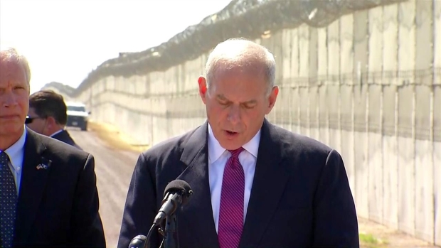 [DGO] 'Serious About Border Security': John Kelly