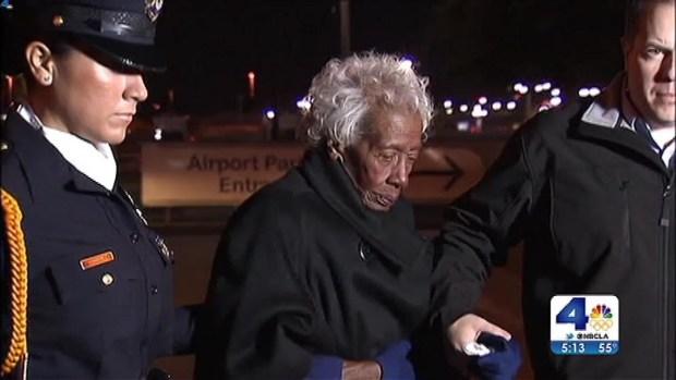 [LA] Veteran's Remains Return Home 63 Years Later