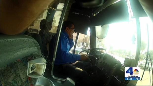 [LA] Tour Bus Crashes in Central California