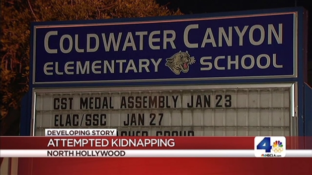 [LA] Girl Thwarts Kidnapping Attempt at School