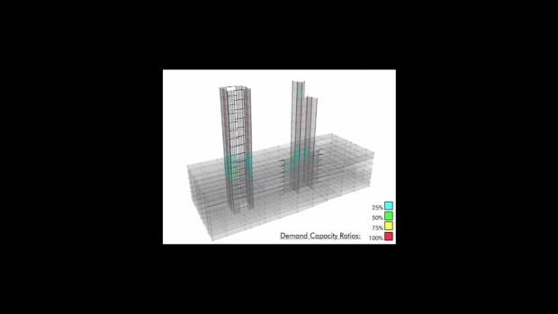I-Team Earthquake Building Computer Simulation