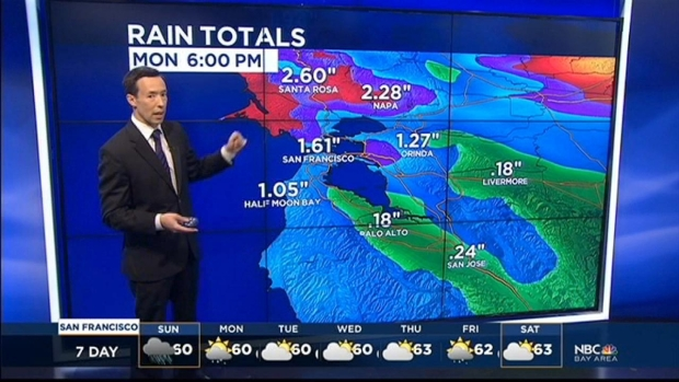 [BAY] Saturday Forecast: More Rain on the Way
