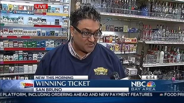 [BAY] $1.9 Million Winning Lottery Ticket Sold in San Bruno