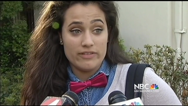 [BAY] Students Wear Ties in Support of Girl Who Wore Tux for Senior Photo