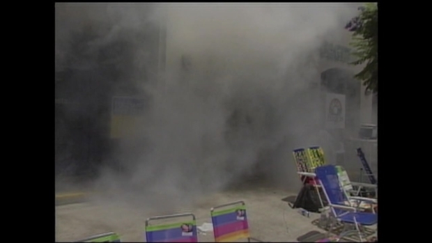 Footage From Tear Gas Attack At 1999 Pride Parade