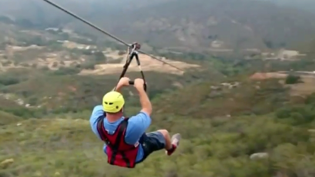 New Zipline Opens in La Jolla