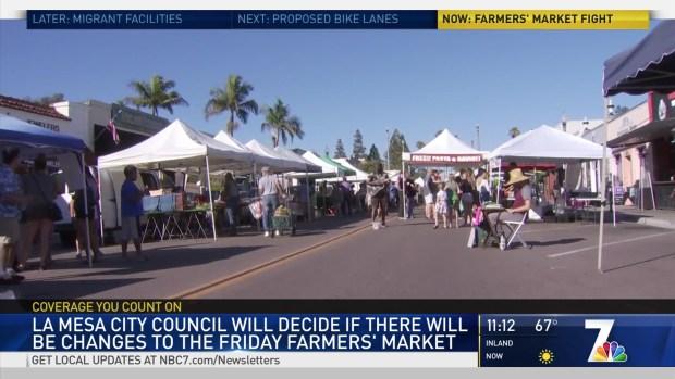 [DGO] City Council to Vote on the Future of The La Mesa Farmers Market