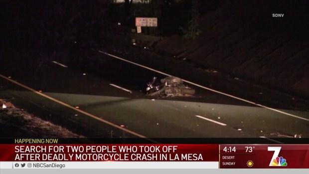 [STRINGER] Woman ID'd in Fatal Motorcycle Crash in La Mesa